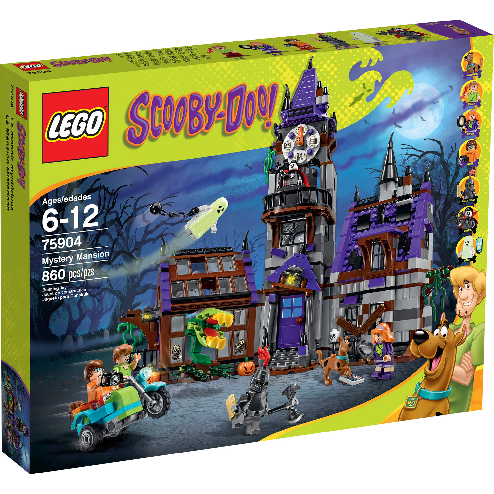 LEGO Scooby-Doo Mystery Mansion, 75904