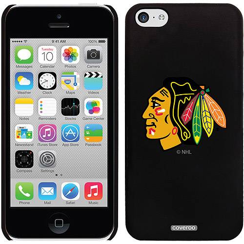 Chicago Blackhawks Primary Logo Design on iPhone 5c Thinshield Snap-On Case by Coveroo