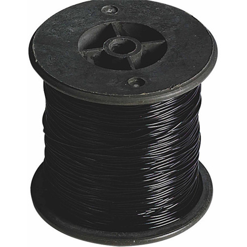 100-Yard Black Elastic Cord, Medium