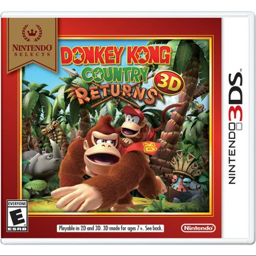 Nintendo Donkey Kong Country Returns 3d - Action/adventure Game - Nintendo 3ds (ctrpayt2)