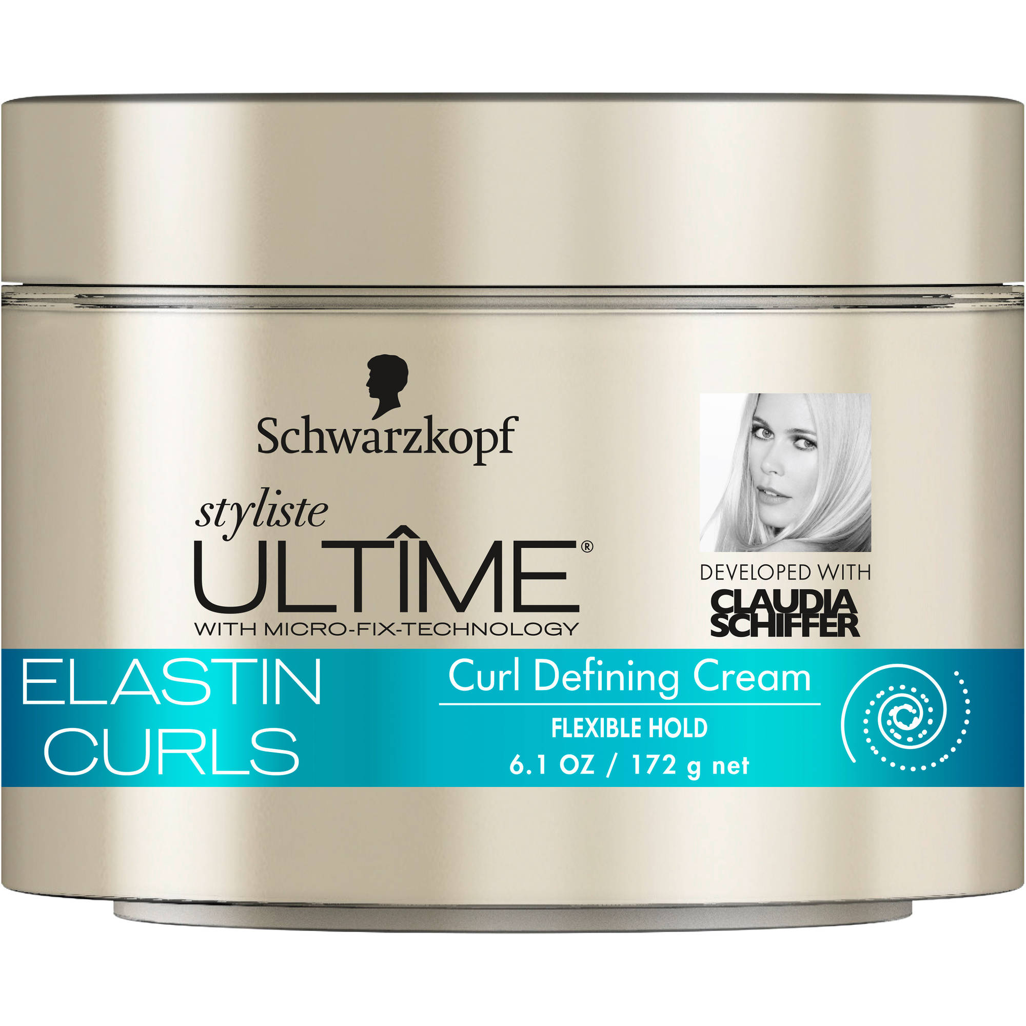 Schwarzkopf Styliste Ultime Elastin Curls Curl Defining Cream , 6.1 oz
