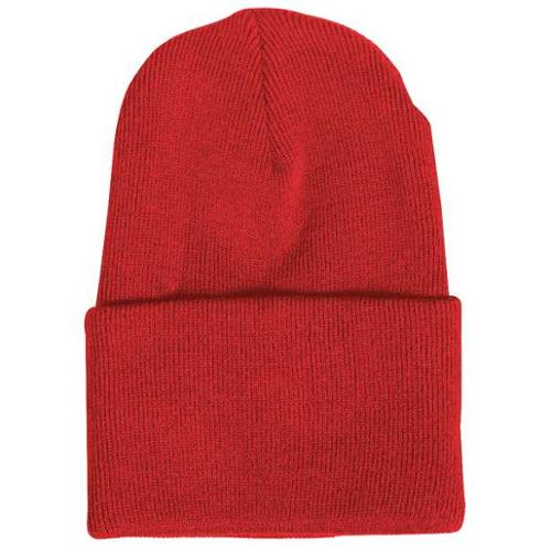IK657S RED Knit Cap, Red, Universal
