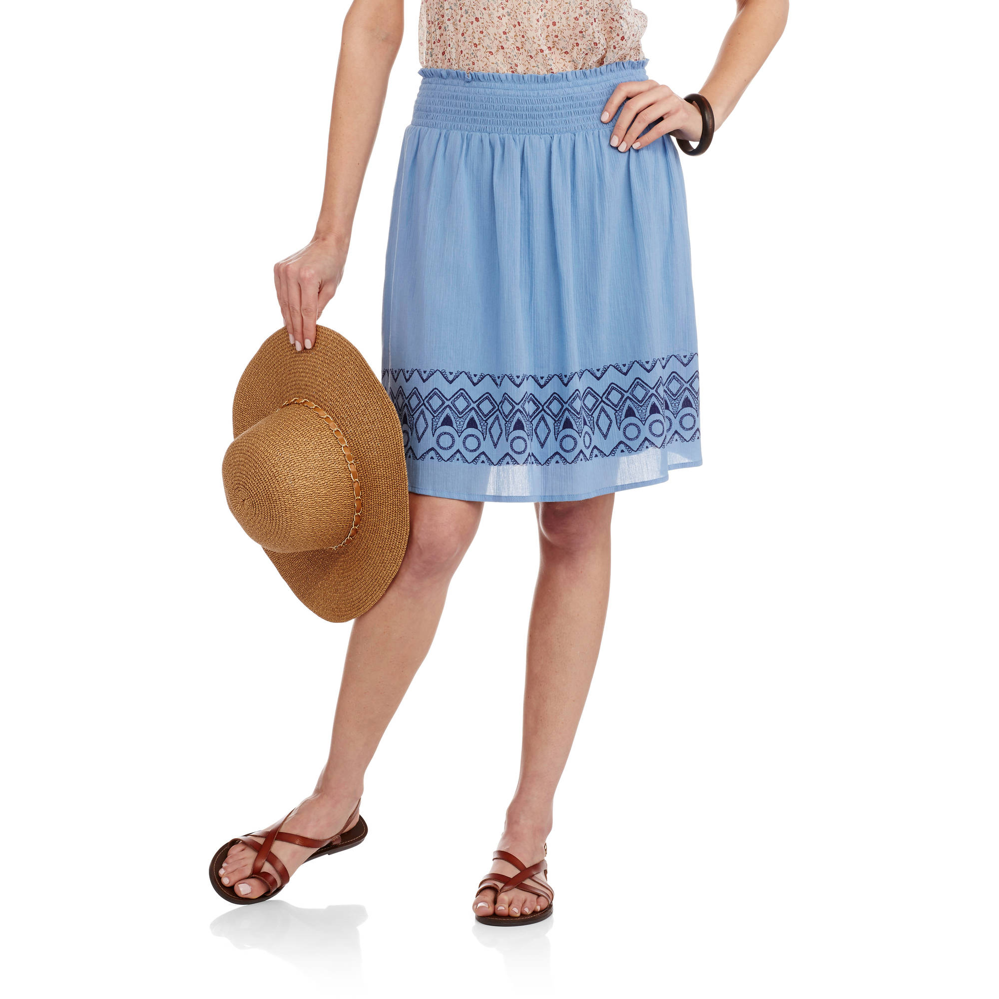 Faded Glory Women's Classic Woven Skirt