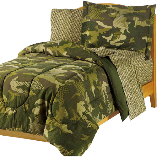 My Room Geo Camo Bed in a Bag