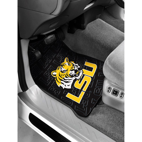 NCAA -Louisiana State University Floor Mats - Set of 2