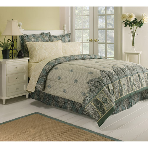 Paisley Tan Bed in a Bag Bedding Set