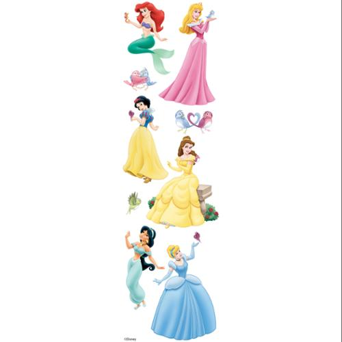 Disney Princess Slims Dimensional Stickers-