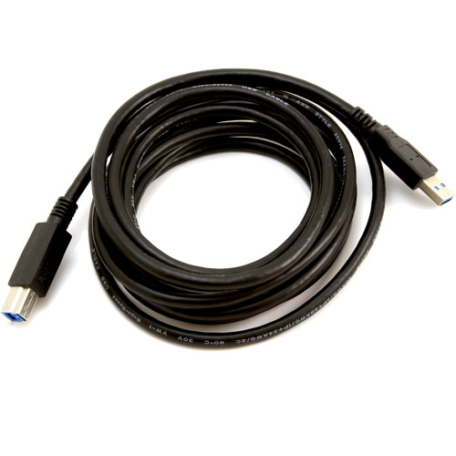 @.com 10' USB 3.0 (A-B) Printer Cable
