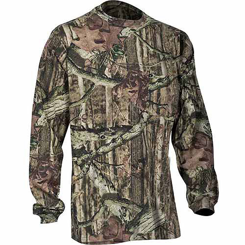 Yukon Gear Men's Long Sleeve T-Shirt, Mossy Oak Break Up Infinity