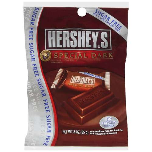 Hershey's Chocolate Special Dark Sugar Free, 3 oz