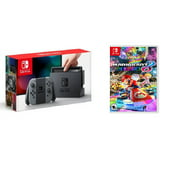 Nintendo Switch Gaming Console Bundle with Mario Kart Deluxe 8