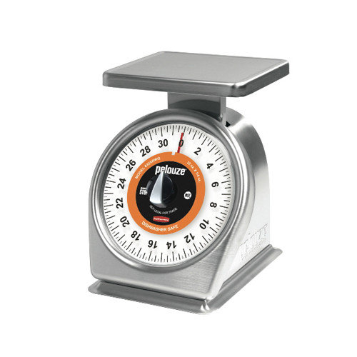 Rubbermaid Commercial Products Pelouze Quick Stop Mechanical Portion-Control Scale