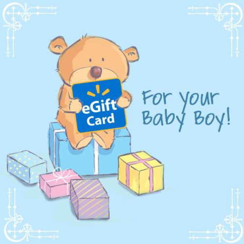 Baby Boy Walmart eGift Card