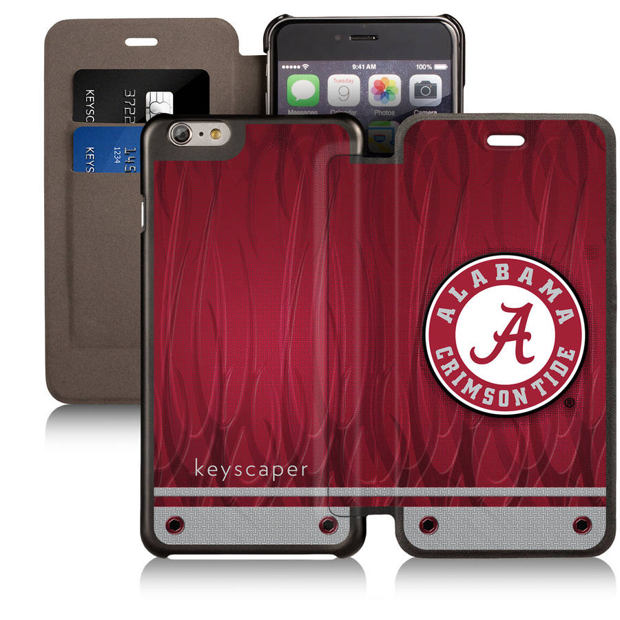Alabama Crimson Tide Apple iPhone 6 Plus Wallet Case by Keyscaper