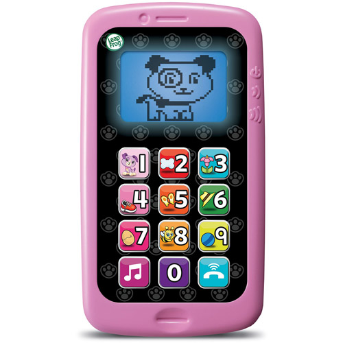 LeapFrog Chat & Count Cell Phone, Violet