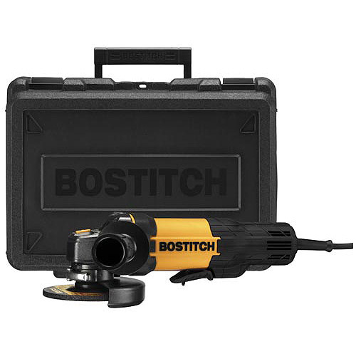 "Bostitch 7 Amp 4.5"" Angle Grinder, BTE820K"