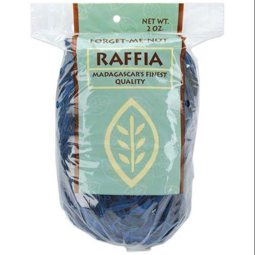 Dyed Raffia 2 Ounces-Royal Blue