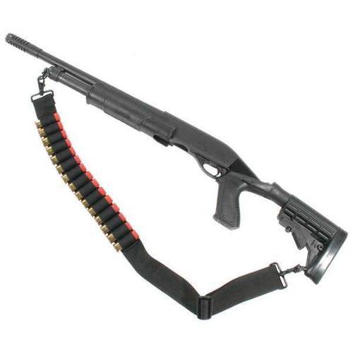 BLACKHAWK 43SS15 Shot Shell Sling,Black,Shotguns/Rifles