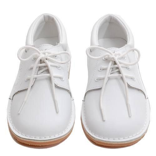 Toddler Little Boys White Oxford Dress Shoes Size 7