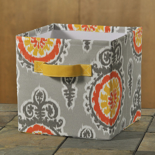 Brite Ideas Living Michelle Citrus Storage Bin
