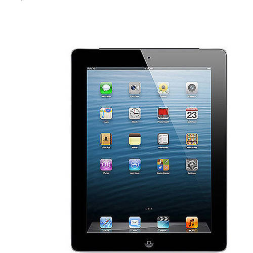 Apple iPad 32GB Wi-Fi + AT Refurbished, (Black or White)