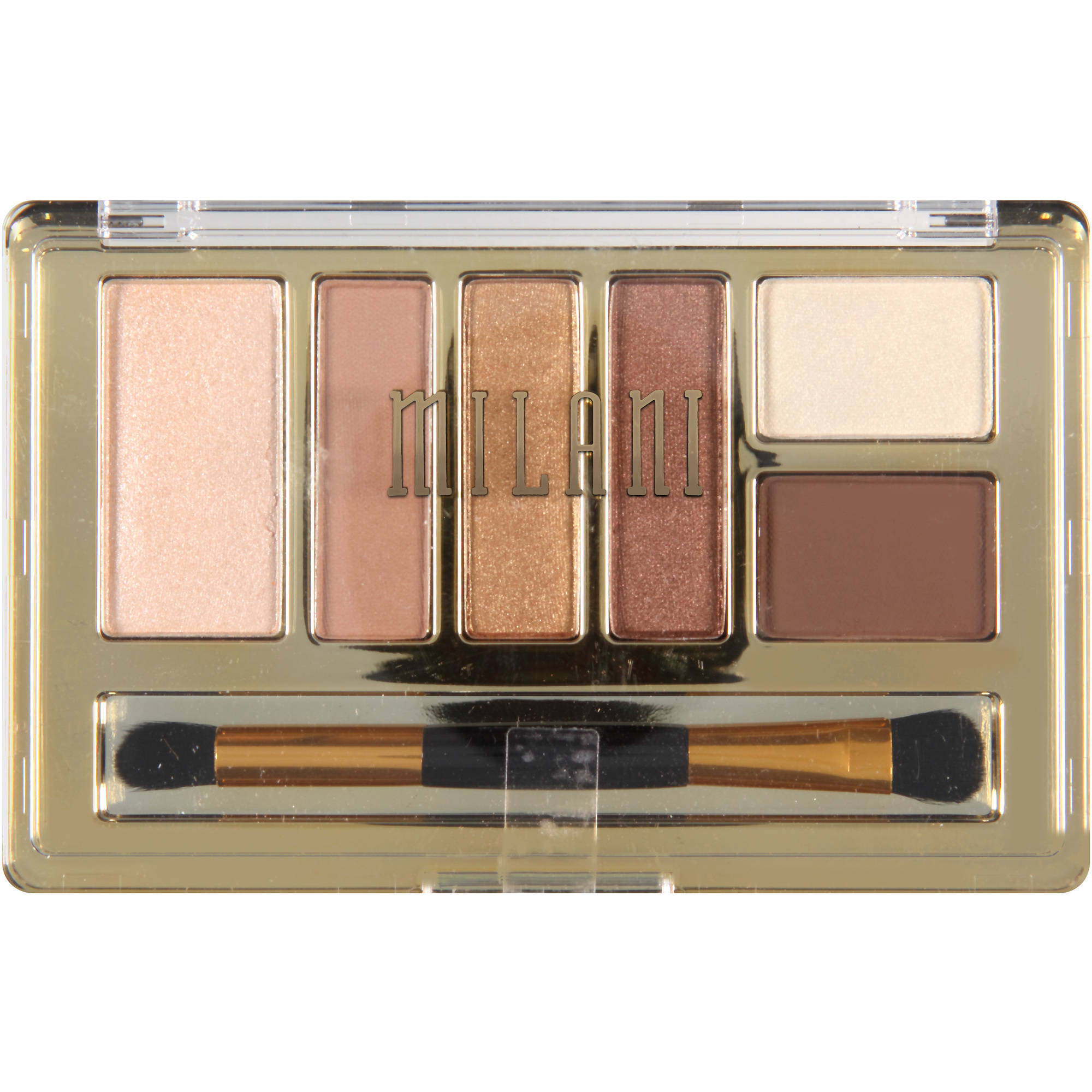 Milani Everyday Eyes Eyeshadow Collection, 02 Bare Necessities, 0.21 oz