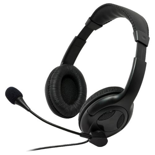 Gear Head AU3700S Headset - Stereo - Mini-phone - Wired - 32 Ohm - 50 Hz - 20 kHz - Over-the-head - Binaural - Ear-cup -