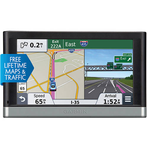 "Garmin Refurbished Nuvi 2597LMT 5"" GPS with Free Lifetime Map and Traffic Updates"