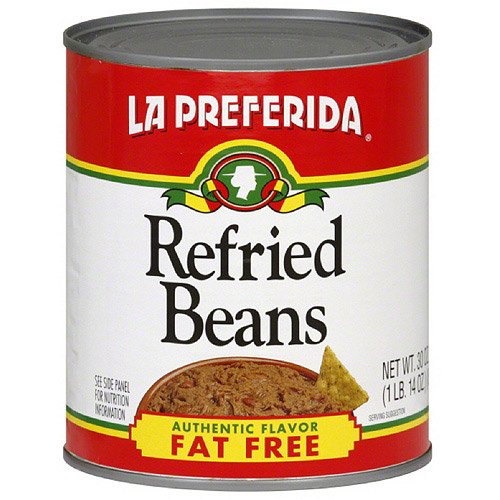 La Preferida Fat Free Refried Beans, 30 oz (Pack of 12)