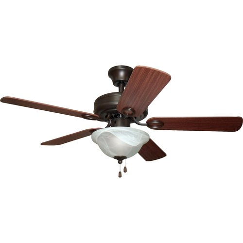Home Elegance 42 Quot Ceiling Fan French Bronze Walmart Com