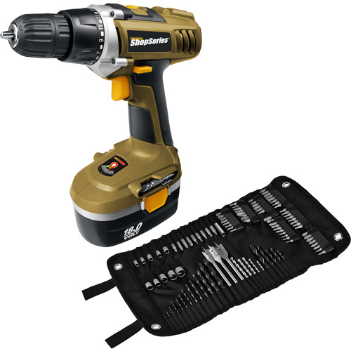 Rockwell ShopSeries 18-Volt Cordless Drill\/Driver Kit
