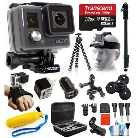 gopro hd hero waterproof action camera camcorder with accessories bundle package includes 32gb. Black Bedroom Furniture Sets. Home Design Ideas