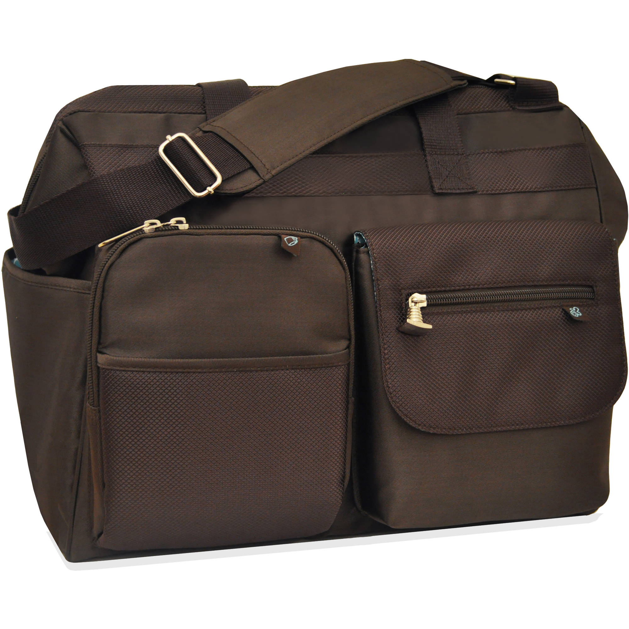 Fisher-Price Brown Frame Diaper Tote