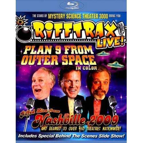 RiffTrax Live!: Plan 9 From Outer Space In Color (Blu-ray)
