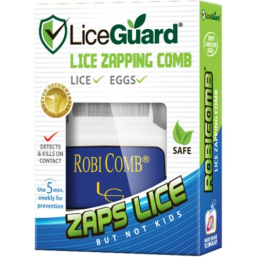 LiceGuard Robi Comb Electronic Head Lice Detector & Remover 1 Each (Pack of 2)