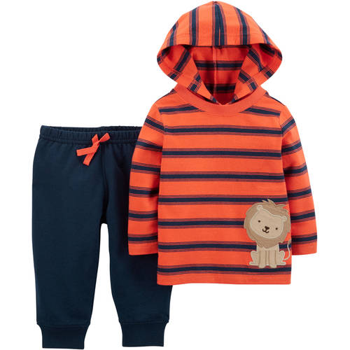 Child of Mine by Carter's Newborn Baby Boy Pant Set-2 Pieces