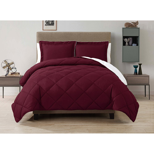 CJ BREEZE by Caribbean Joe Down Alternative Box Reversible Bedding Comforter Set