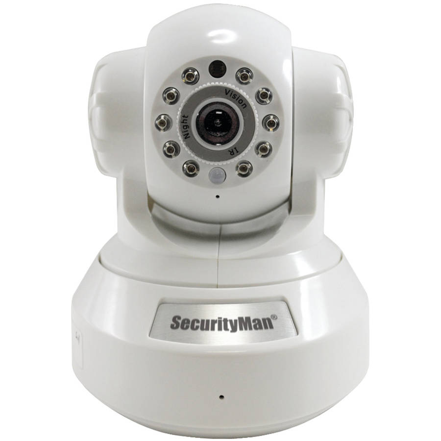 Securityman IPCAM-SD DIY Indoor Wireless/Wired IP Camera