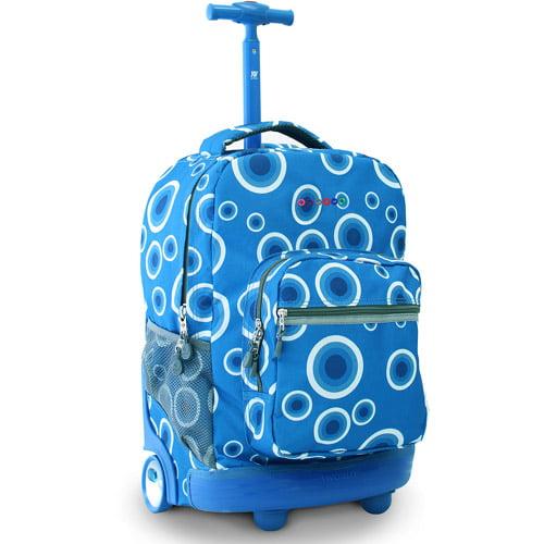 "J World Sunrise 18"" Rolling Backpack"