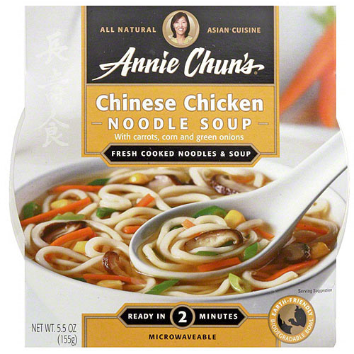 Annie Chun's Chinese Chicken Soup, 5.5 oz (Pack of 6)