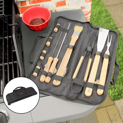 Personalized 11-piece BBQ Tool Set L