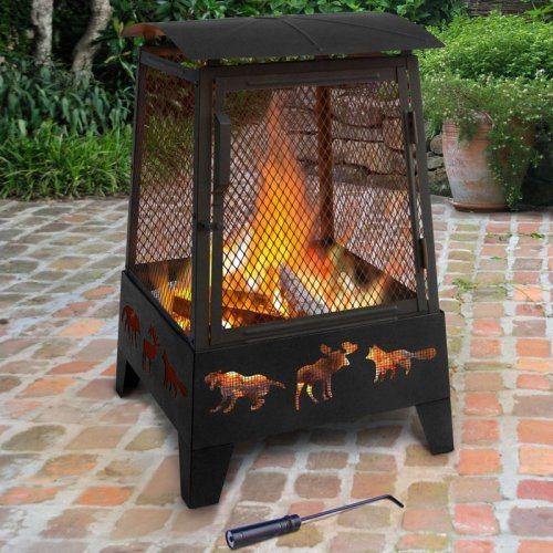 Landmann USA 25319 Haywood Wildlife Fire Pit