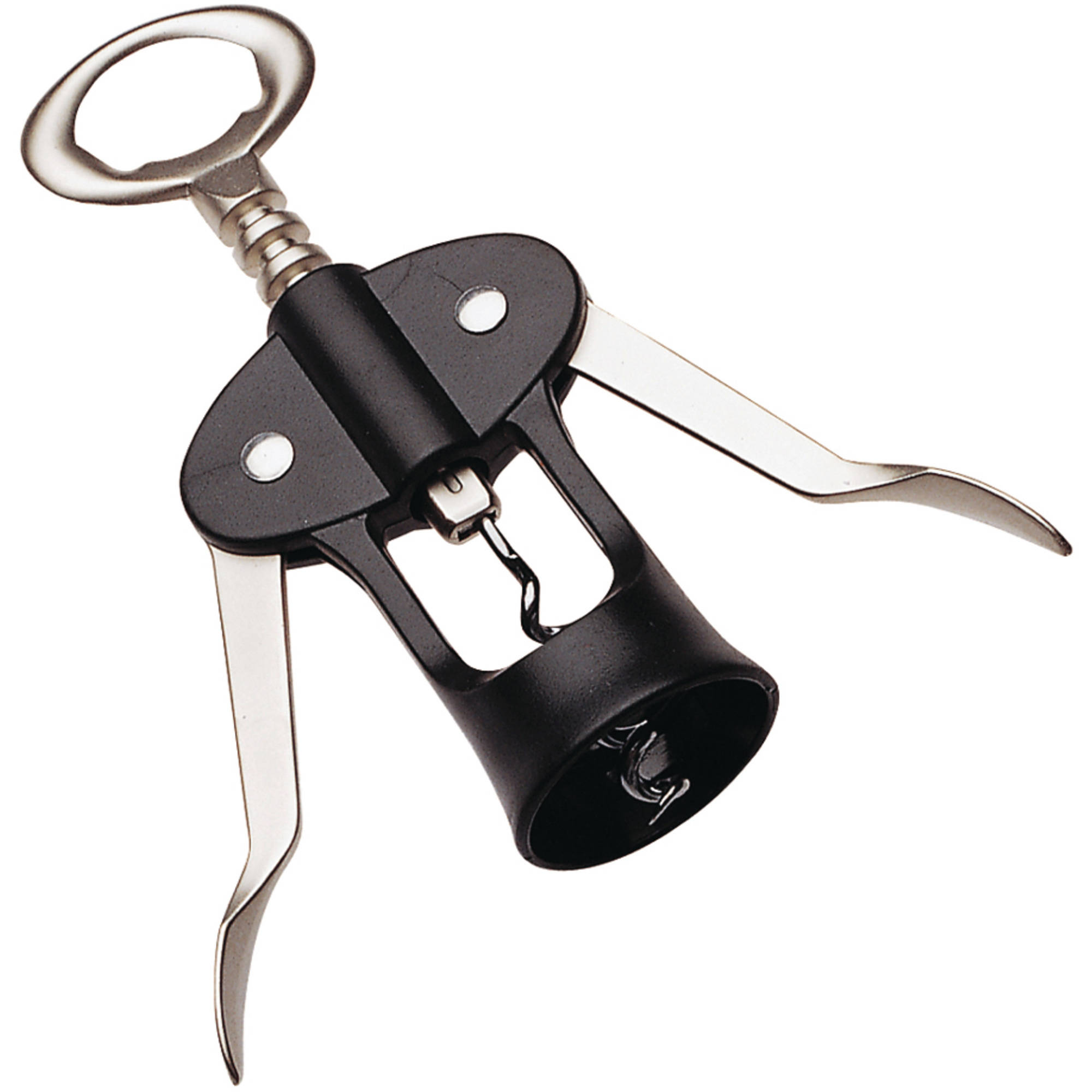 Prepworks Chrome and Plastic Classic Wing-Tip Wine Opener