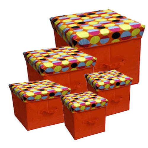 JaBox Collapsible Storage Box (Set of 5)