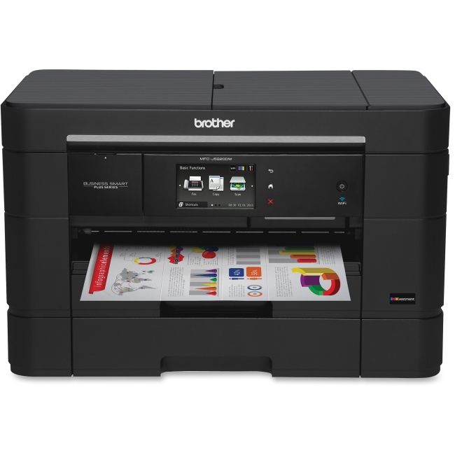 Brother Business Smart MFC-J5920DW Inkjet Multifunction Printer - Color - Plain Paper Print - Desktop