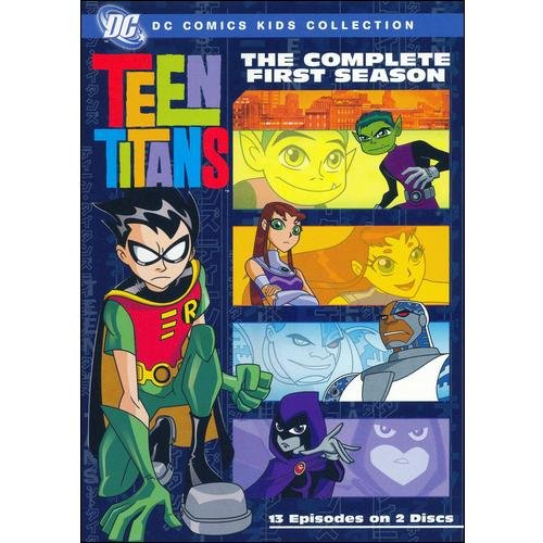 TEEN TITANS-COMPLETE 1ST SEASON (DVD/P&S-1.33/ENG-FR-SP SUB)