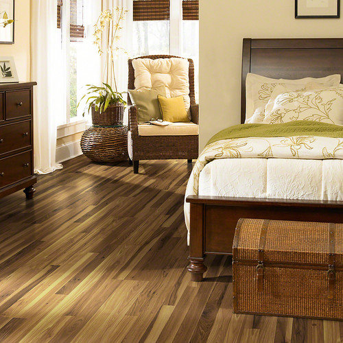 Shaw Floors Natural Values 6.5mm Hickory Laminate in Richland Hickory