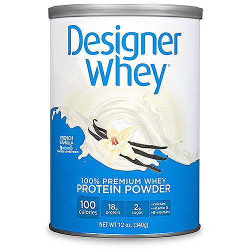 Designer Whey French Vanilla Protein Powder, 12 oz