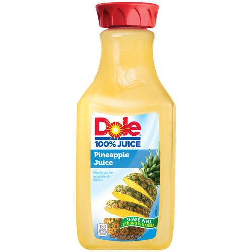 Dole 100% Pineapple Juice, 59 fl oz