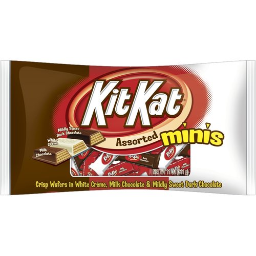 Kit Kat Miniatures Assorted Chocolate, 11 oz